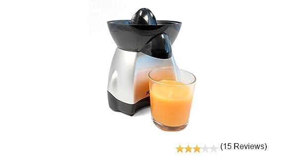Jocca 5444 Exprimidor eléctrico, color plateado 25 W, 0.35 litros, Plata: Amazon.es: Hogar