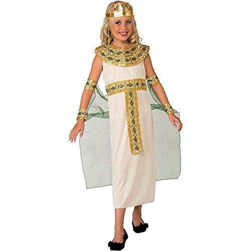 Green Cleopatra Kids Costume - Large