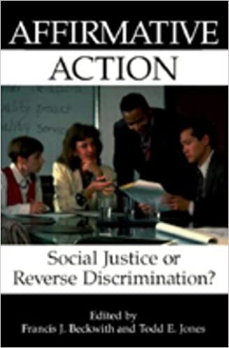 an analysis of affirmative action as a reverse discrimination Essay on affirmative action  affirmative action is reverse discrimination against  ada and affirmative action analysis of how beliefs influence actions.