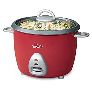 Amazon.com: Rival RC61 RC61 6-Cup Rice Cooker w/Steamer