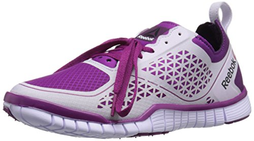 Reebok Women's Zquick lux 3.0-w, Fierce Fuchsia/Royal Orchid/Night Violet/Lilac Ice, 6.5 M US (Zquick Trainer)
