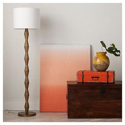 Nixon Floor Lamp Walnut - ThresholdTM