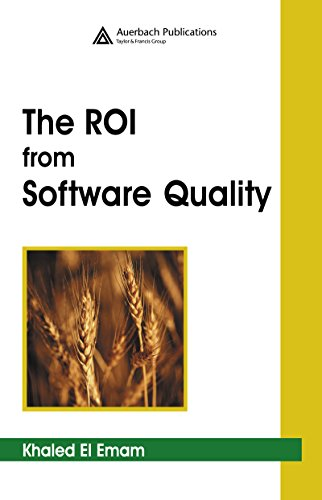 The ROI from Software Quality Pdf