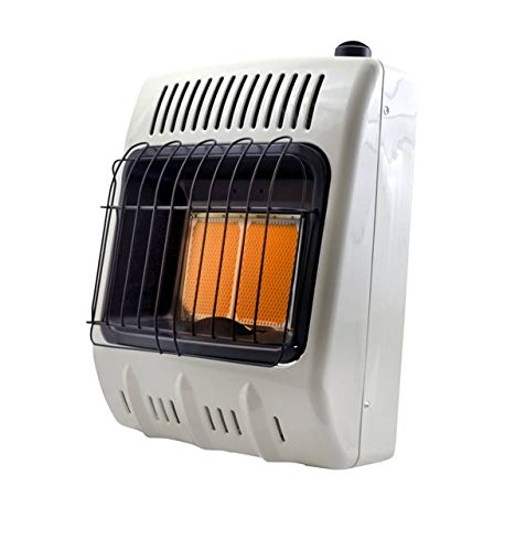 Mr. Heater Corporation F299811  10,000 BTU Vent Free Radiant Natural Gas Heater, MHVFRD10NG (Gas Wall Heater Ventless)