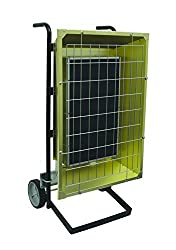 Fostoria FSP43483 FSP Series Heavy Duty Flat Panel Emitter Electric Portable Infrared Heater 4.30KW, 8.96 Amp