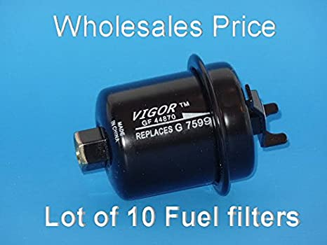 wholesales price ( lot of 10) gf44870 fuel filters fits: honda accord 1994-