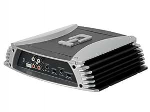 Scosche HDA4002 2.0 Coche Alámbrico Negro, Plata - Amplificador de audio (2.0 canales, 150 W, 1%, 75 W, 150 W, 193 mV)