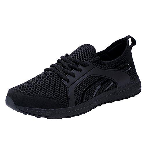 Feetmat スニーカー メンズ レディーズ カジュアル メッシュ スポーツシューズ 軽量 通気 アウトドア 23.0cm~28.0cm