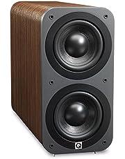Q Acoustics QA3072 Subwoofer for All Devices Colour: Hazelnut.