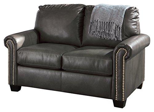Signature Design by Ashley Lottie DuraBlend Sleeper Sofa, Queen, Almond