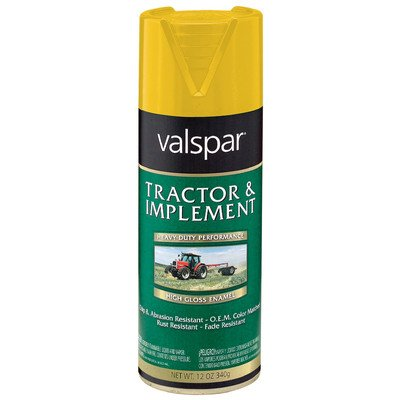 Tractor and Implement Enamel Spray Paint [Set of 6] Color: John Deere Yellow