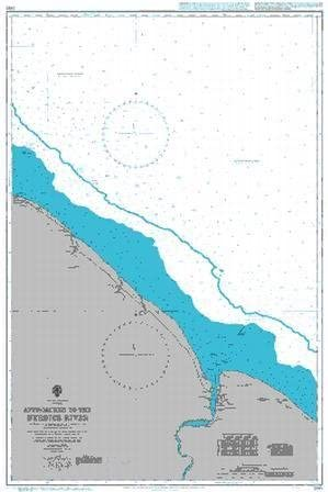 Approaches to the Berbice River UKHO BA Chart 2687