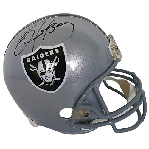 Bo Jackson Oakland Raiders Signed Autograph Full Size Helmet JSA Witnessed Certified