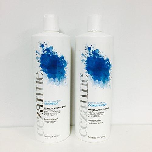 Cezanne Perfect Moisture Shampoo & Conditioner Liters Set 33.8oz each