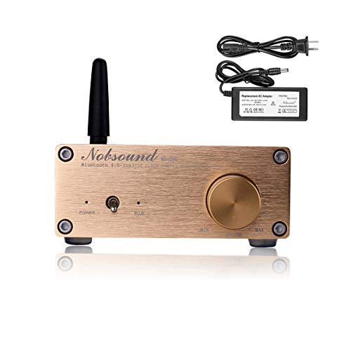 Nobsound NS-05G Pro 100W (50W x 2) Bluetooth 4.0 Amplificador de Potencia Hi-Fi Stereo Class D Mini Digital Amp Home Speaker...