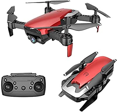 Drone X Pro AIR - 1080P HD Dual Camera WiFi FPV 20min Flight Time Follow Me Mode Gesture Control Gesture Photo and Video Optical Flow Positioning Real-Time Transmission Altitude Hold (2 Batteries)