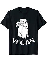 Vegan Rabbit Bunny Funny Vegetarian Pet T-Shirt