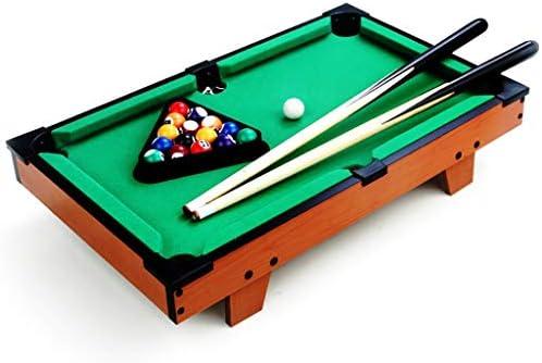 WXS Tablas De Madera, Mini Piscina Table Top Billar Snooker Juego ...