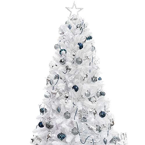 Artificial Christmas Tree Ornaments Lights Rose Gold Champagne Led String Lights Ebay