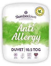 Slumberdown Anti Allergy Duvet, Single, 10.5 Tog All Year Round