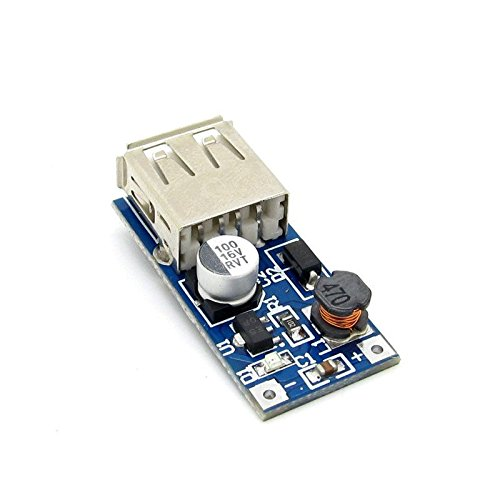 5PCS PFM Control DC-DC Converter Step Up Boost Module 600MA USB Charger 0.9V-5V to 5V Power Supply Modul TE110