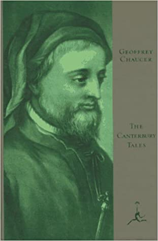 The Canterbury Tales Middle English Edition Geoffrey Chaucer