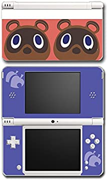 Animal Crossing Happy Home Designer Tom Nook Video Game Vinyl Decal Skin Sticker Cover for Nintendo DSi XL System