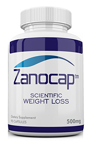 Zanocap Diet Pills for healthy weight loss, appetite suppressant, and ephedra free fat blocker for weight control. 90 capsules, 500mg each, All Natural Ingredients. 100% Money Back Guarantee. - Ephedra Appetite Suppressant