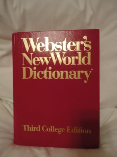 Websters New World Dictionary of American English//Third College Edition