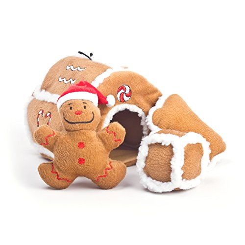 Outward Hound Kyjen  31021 Gingerbread House Squeaking Puzzl