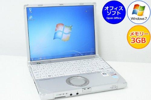B5 レッツノート パナソニック 松下 Panasonic CF-R8 Core2Duo-1.20GHz 3GB 160GB