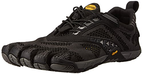 Vibram Men's KMD EVO Cross Training Shoe, Black/Grey,46 EU/12-12.5 M US