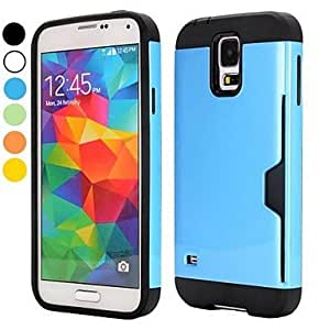 JOE Double Color Detachable TPU and PC Hybrid Cover Case for Samsung Galaxy S5 I9600 G900(Assorted Colors)