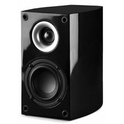 Black Diamond BD 100 Audiophile 2-Way LCR/S Onwall / Bookshelf Design Ideal for Front, Side or Rear Channel Applications by Pinnacle Speakers