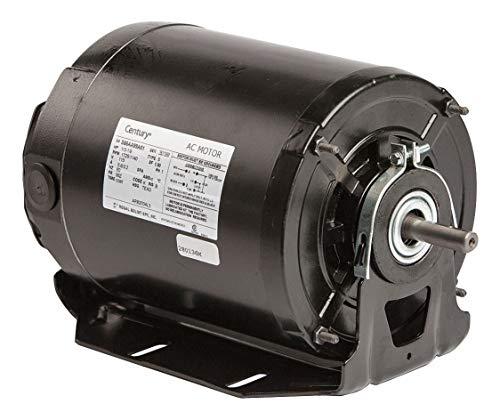 - A.O. Smith - ARB2034L5-1/3 HP Belt Drive Motor, Split-Phase, 1725 Nameplate RPM, 115/208-230 Voltage, Frame 56Z