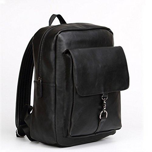 nasis-new-fresh-pu-leather-mens-casual-retro-handbag-shoulder-bag-messeger-bag-backpack-ay5002-black