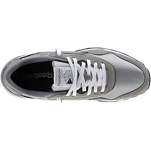adulto Classic Grigio bianco Unisex Scarpe Da Leather Corsa Reebok 7qBRYB