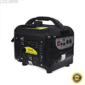 COLIBROX--2000W WATTS GAS PORTABLE GENERATOR QUIET RV HOME CAMPING NEW Assembly Tools, Engine Oil and Funnel Included - Just Add Gas Electric Start and LED-Lit Control Panel.