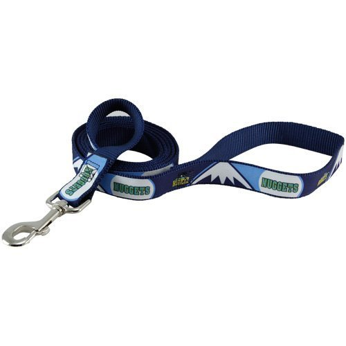 NBA Denver Nuggets Pet Lead, Team Color, Medium