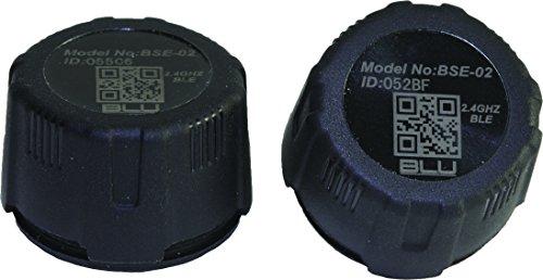 Blu Automotive 502100 Bluetooth Tire Pressure External Sensor (2Piece),1 Pack (Blu Classic Cap)