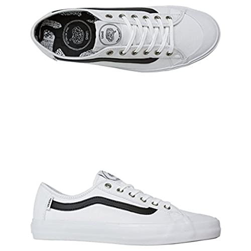 e3208796b86ee Vans Black Ball SF (Dane Reynolds White) Men's Skate Shoes well ...