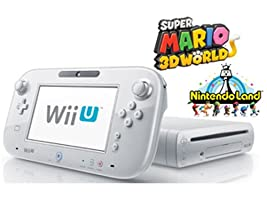 Wii U Deluxe Set 32GB White Limited Edition with Super Mario 3D World and Nintendo Land (Certified Refurbished)
