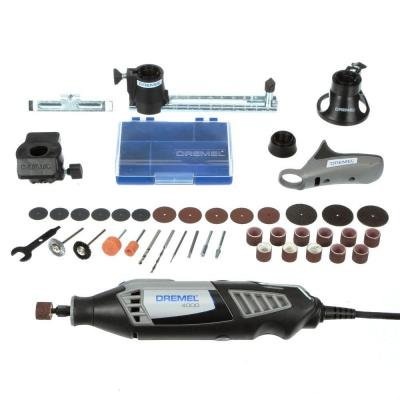 4000 Series 1.6 Amp Corded Rotary Tool Kit by None