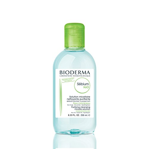 Price comparison product image Bioderma Sebium H2O Micellar Water 8.33 fl oz, Cleansing and Make-Up Removing Solution