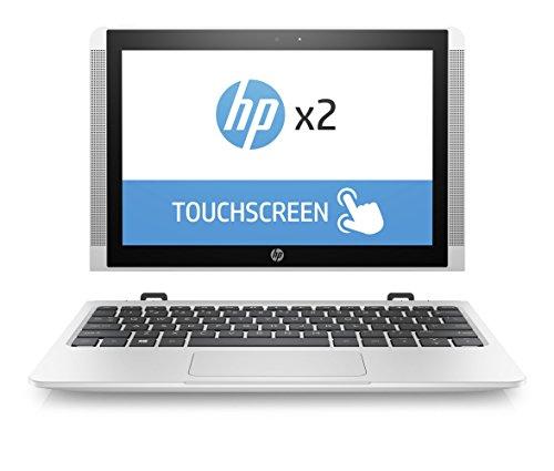 HP x2 10-p003ng (Z6K87EA) 257 cm (10,1 Zoll / WXGA IPS eDP) Convertible Laptop (2in1 Notebook und Tablet Atom X5-Z8350 128 GB eMMC 4 GB RAM Intel HD Graphics Windows 10 Home) weiß