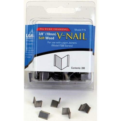 Logan F15 3/8th Inch Loose V-nails For Soft Wood Pack for sale  Delivered anywhere in USA