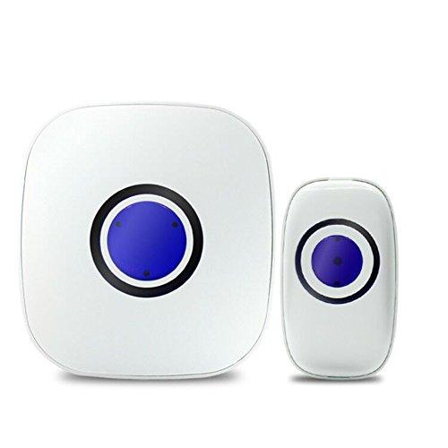 Ocamo Smart Wireless Door Bell Intelligent Waterproof Doorbell with 38 Ringtones EU Plug