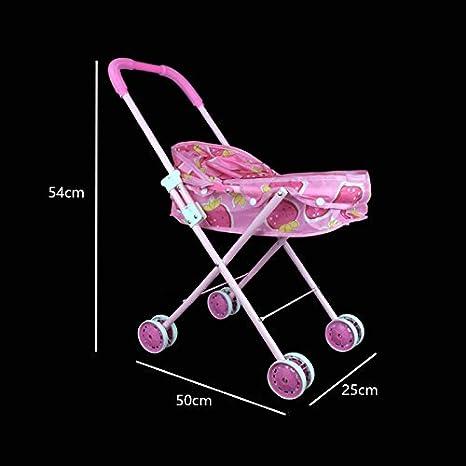 Amazon.com: vinmax bebé plegable carriola para muñecas ...