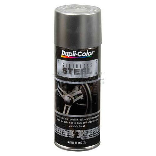 Dupli-Color Automotive Metallic Coating Stainless Steel 11 Oz. Aerosol - Lot of 6