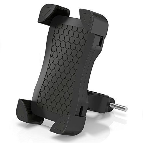 Artix Bicycle Mount | Phone Holder for Bike | Cradle Stand Features 360 Rotation Capability and Universal Clamp for iPhone/Android/Samsung/Nexus